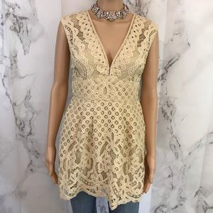 Free People Lacy Stacy Top